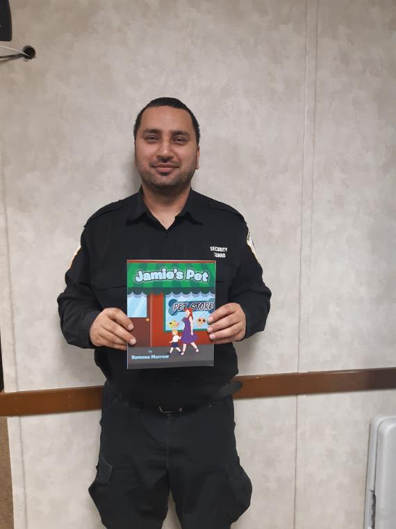 GaganDeep Bawa Has a Signed Copy Of Jamie's Pet Children's Book