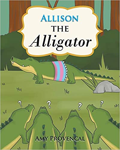 Allison the Alligator Kid Book for Road Trips