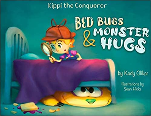 Bed Bugs & Monster Hugs Kid Book for Road Trips