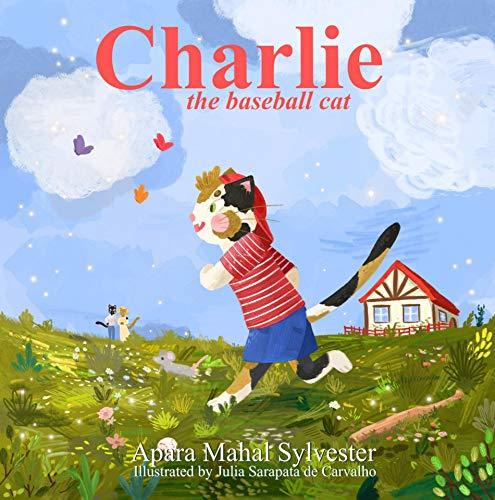 Charlie the Baseball Cat Illustrated Children's Book