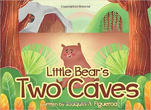 Little Bear's Two Caves Children's Kindergarten Picture Book