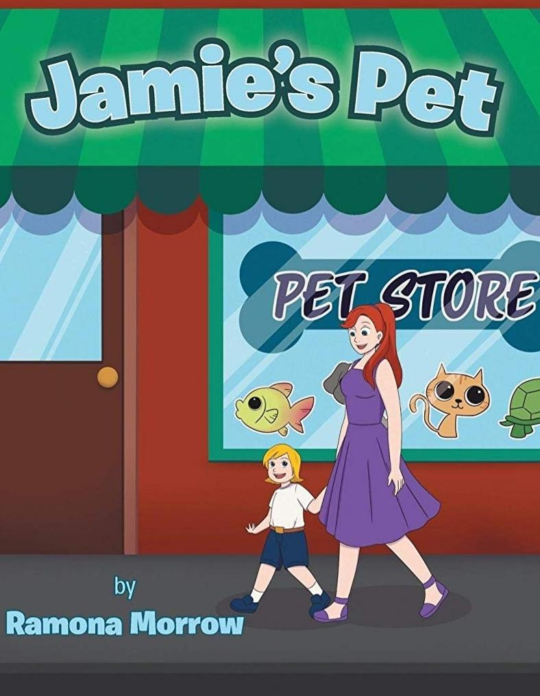 Jamie's Pet Children's Paperback Book for kids