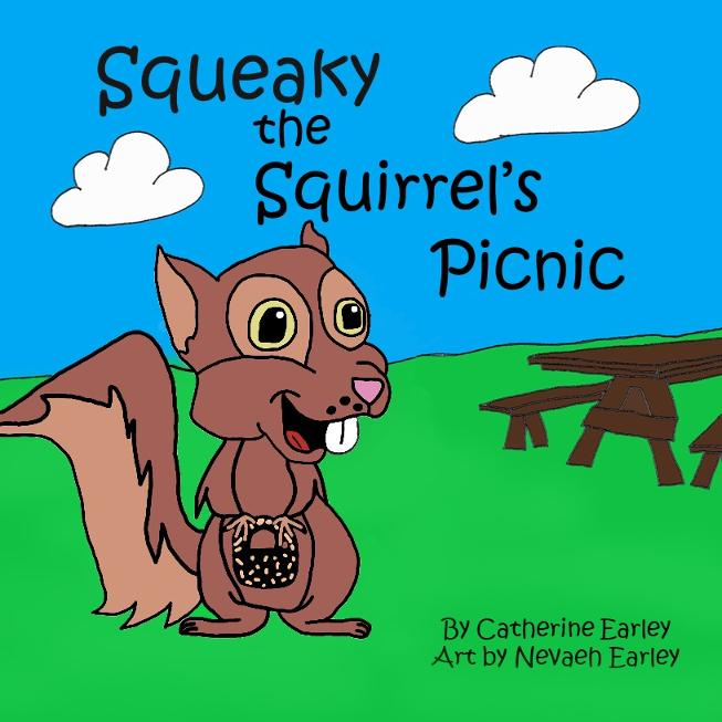 Squeaky the Squirrel's Picnic Kid Book for Road Trips